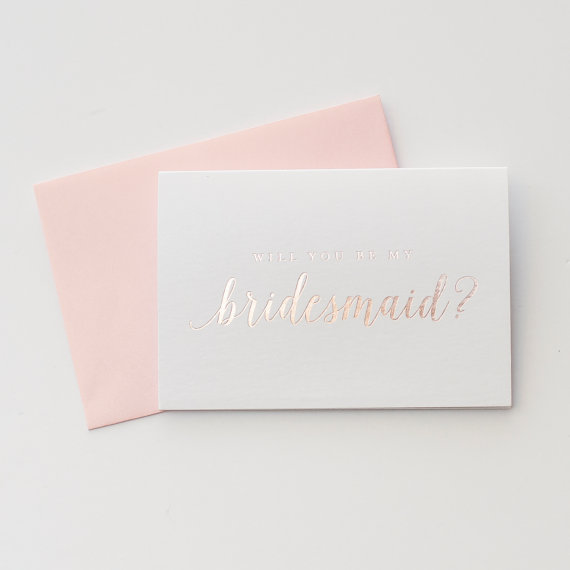 STARBOARD PRESS ON ETSY:  DFW Wedding Venue - The Empire Room | Top Note Cards for asking your bridesmaids