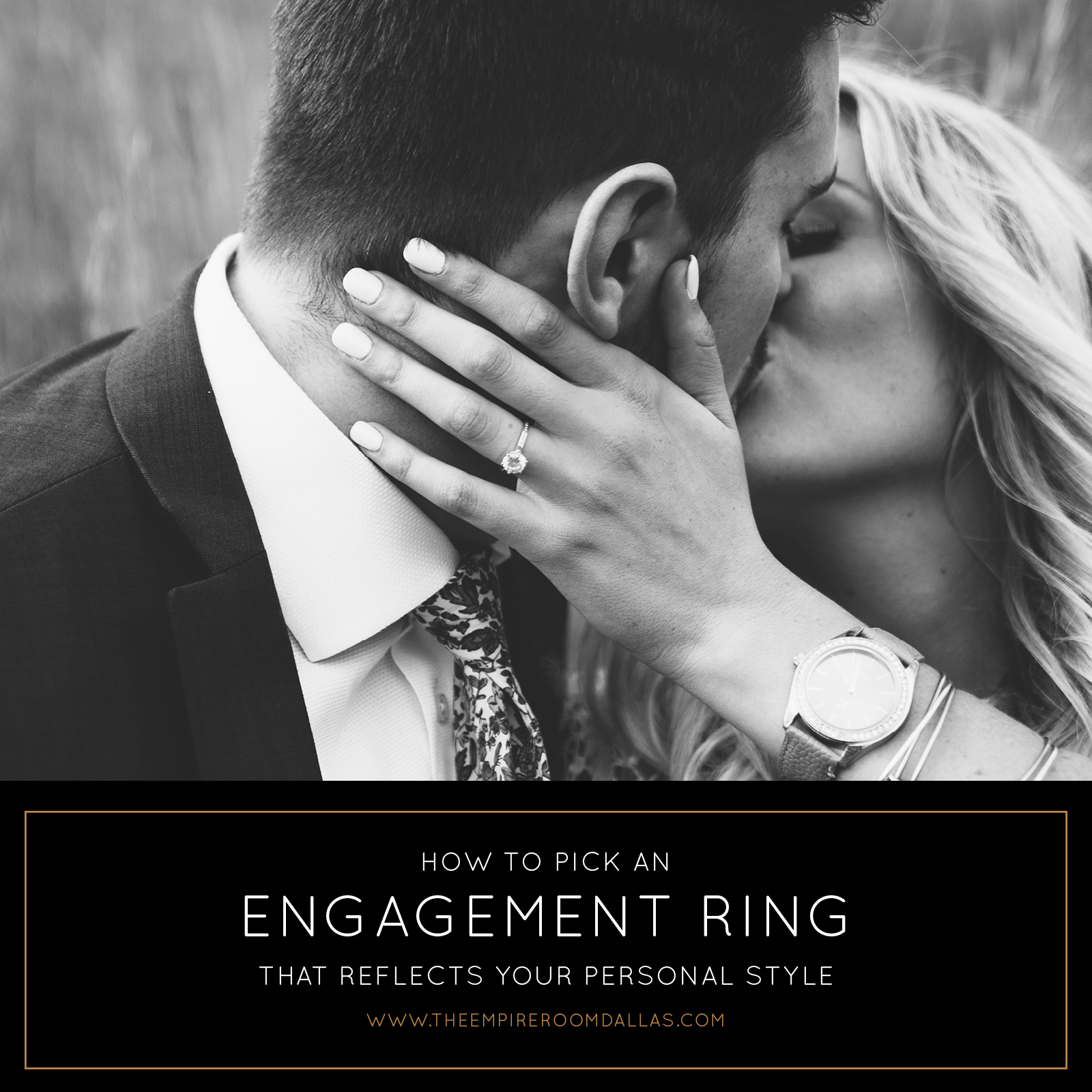 Dallas Modern Wedding Venue | Engagement Ring Styles