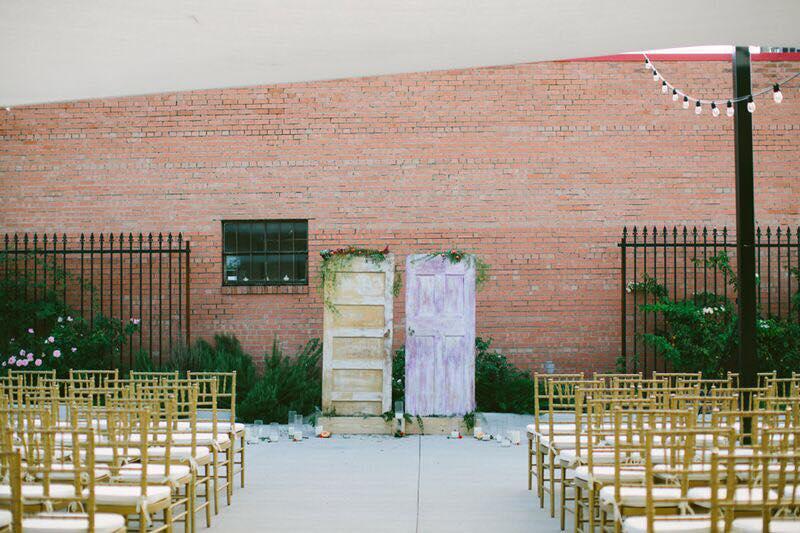 blank canvas wedding venue in dallas